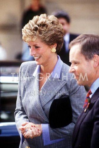 Diana With Jeffrey Archer