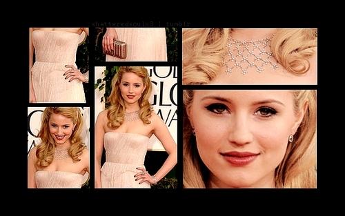 Dianna @ 2011 Golden Globes