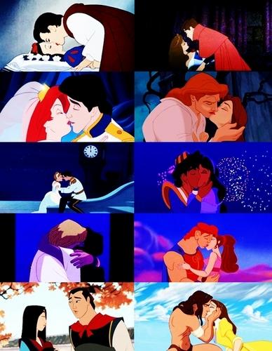Disney-kiss
