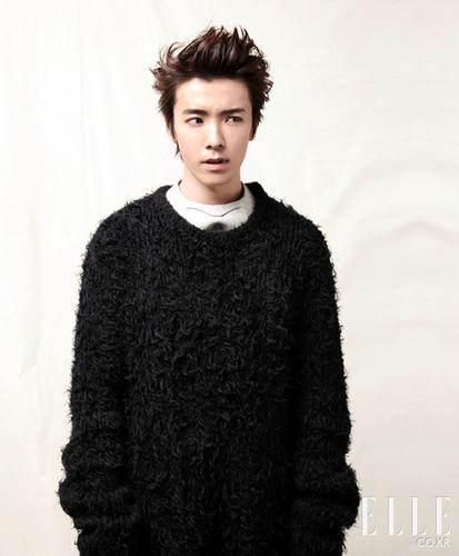 Donghae For Elle - Jan 2011