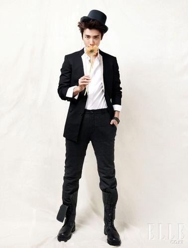 Donghae For Elle January 2011 released!
