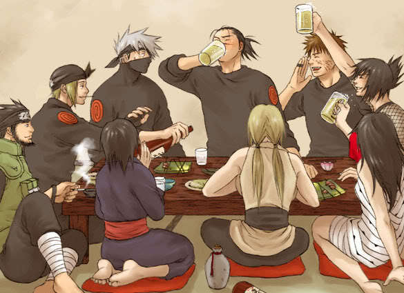 Drinking party!