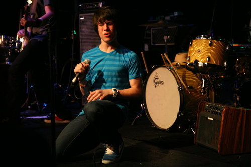 Dylan performing with The Feaver at The Canyon Club!