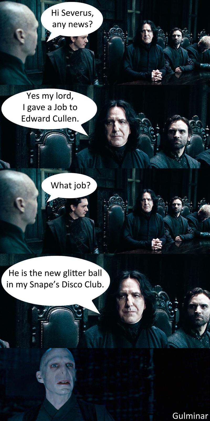 Edwards New Job