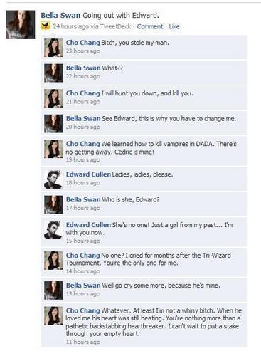 Facebook: Twilight/HP style