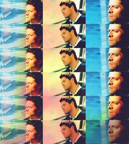 Castiel wallpaper probably with sunglasses entitled fan art