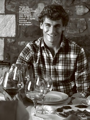 "Fernando Llorente for ""Telva"" Magazine (February 2011)"