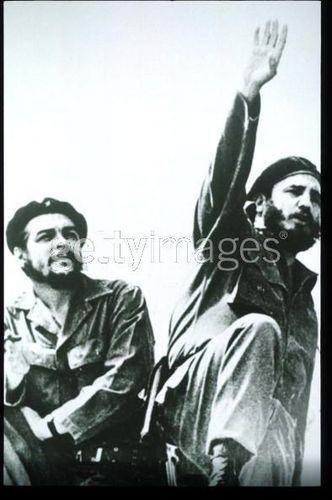 Fidel Castro and Ernesto Che Guevara
