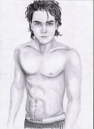 Gerard Way Shirtless