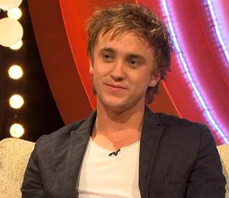 tom felton shirt off. tom felton and jade mtv movie