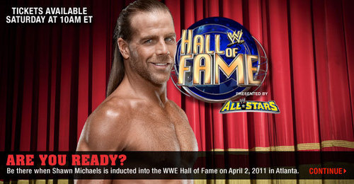 HBK IN HALL OF FAME 2011 WHOOOO