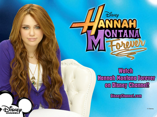 Hannah Montana 4'ever Exclusive MILEY VERSION Обои by dj!!!