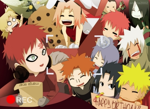 Happy Birthday to Gaara