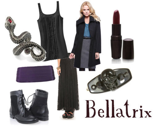 Harry Potter Inspired Fashions: Bellatrix
