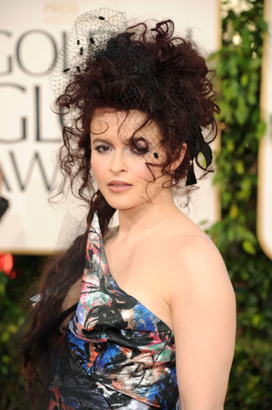 Helena Bonham Carter Golden Globes 2011
