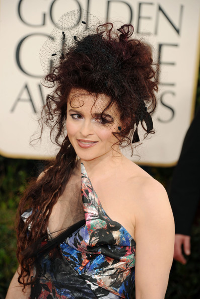 Helena Bonham Carter @ the 2011 Golden Globes
