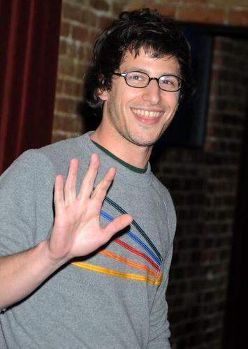 Andy Samberg wallpaper containing a portrait entitled Hiii Andy Samberg