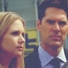 Hotch & JJ litrato probably containing a business suit, a judge advocate, and a portrait titled Hotch & JJ