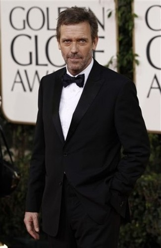 Hugh Laurie @ the 2011 Golden Globes