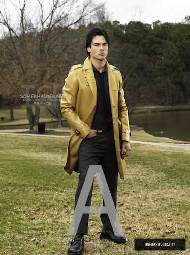 Ian S. Photoshoot Inconnu - ian-somerhalder Photo