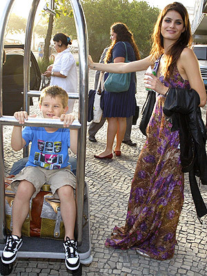 Isabeli with her son Zion