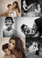 Isabeli with her sons - isabeli-fontana photo