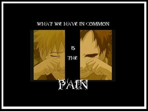 It's the pain