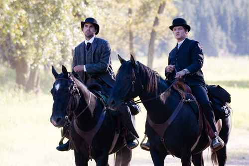 JR in The Assassination of Jesse James oleh the Coward Robert Ford