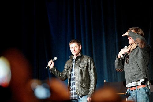 Jared and Jensen at San Francisco Con - 2011