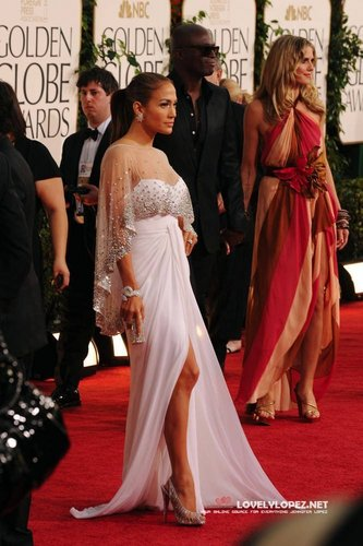 Jennifer @ 68th Annual Golden Globe Awards - Redcarpet and دکھائیں