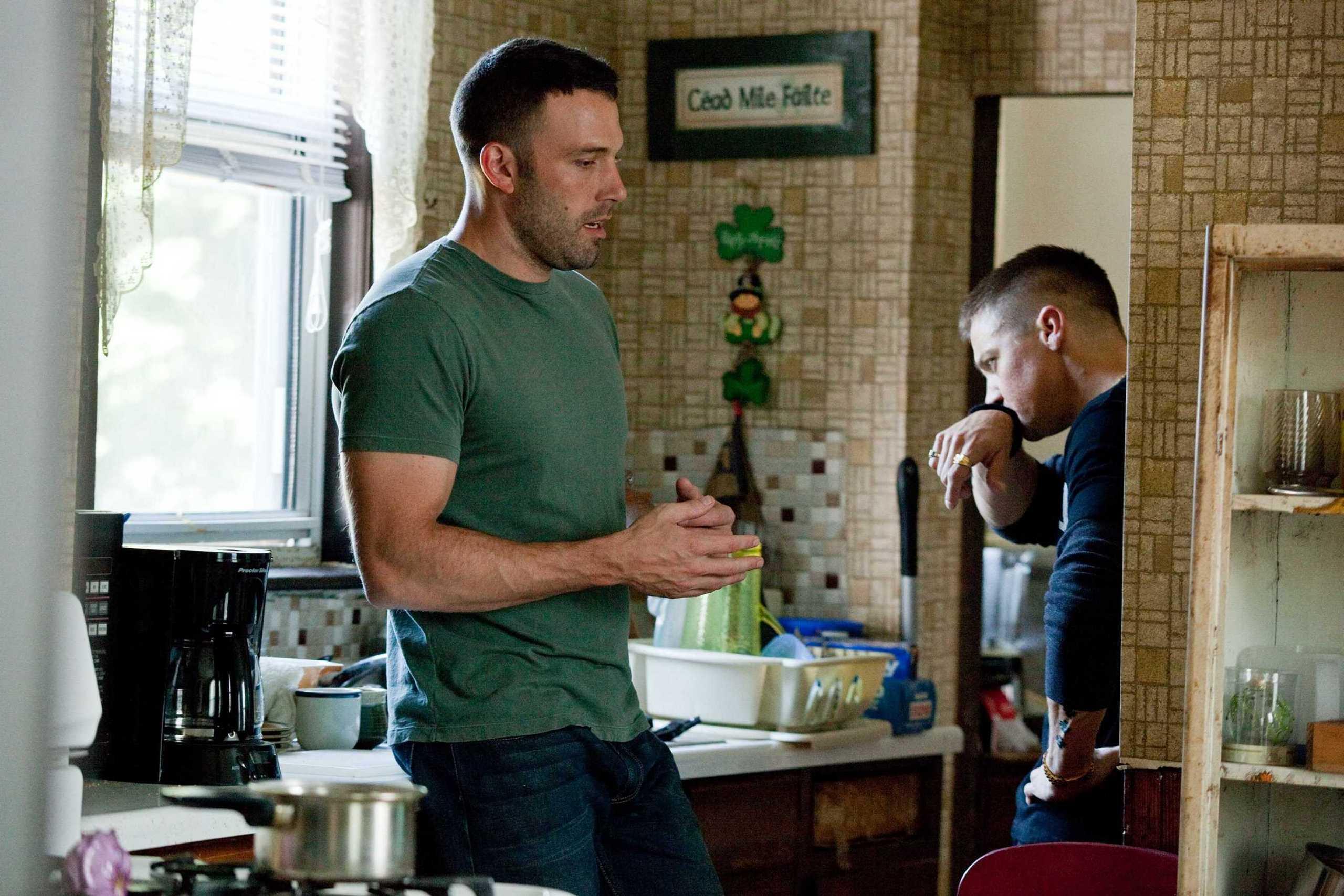 Jeremy Renner & Ben Affleck in The Town - Jeremy Renner ...