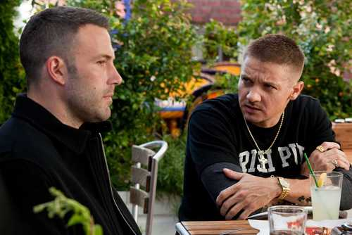 Jeremy Renner & Ben Affleck in The Town