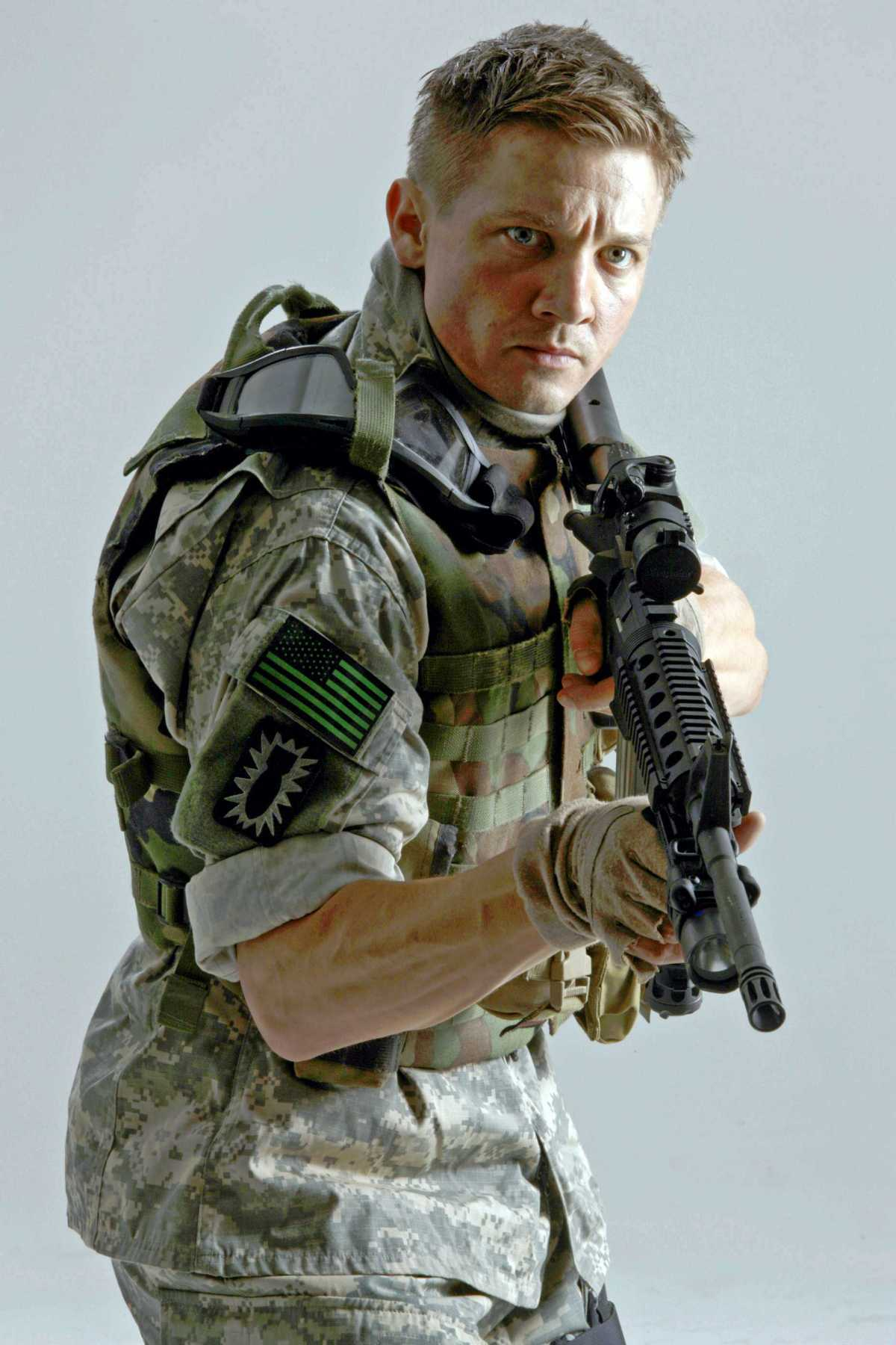 Jeremy Renner in The Hurt Locker