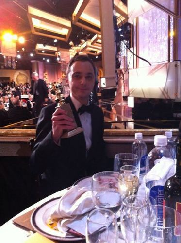 Jim Parsons - Golden Globes 2011!