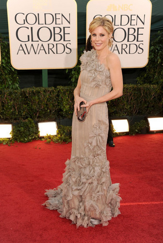 Julie @ the 68th Annual Golden Globe Awards