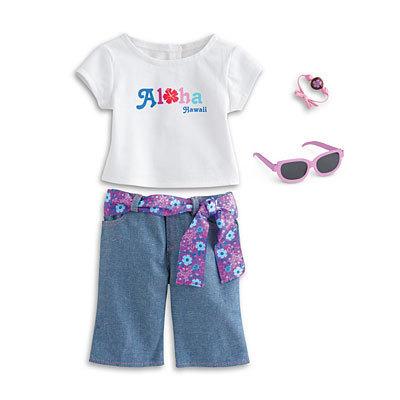 Kanani's Aloha Outfit