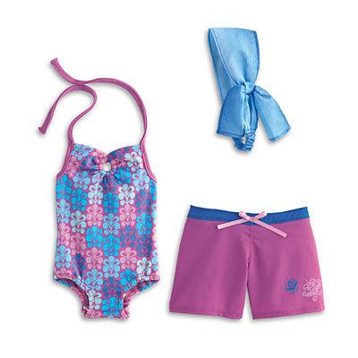 Kanani's Beach Outfit, Paddleboard & Seal Set