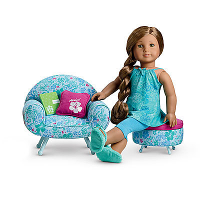 Kanani's Pajamas & Lounge Chair Set