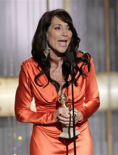 Katey at Golden Globes