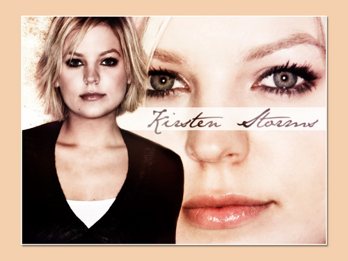 days of our lives wallpaper containing a portrait called Kirsten Storms/ Belle Black