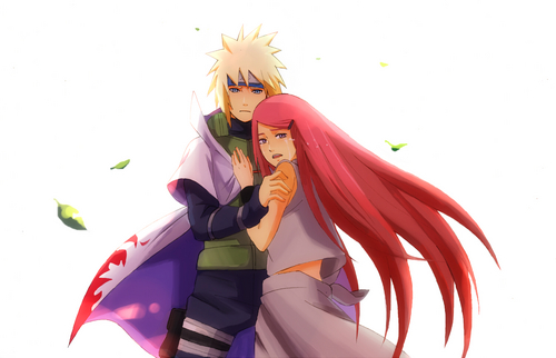Kushina Uzumaki wallpaper called Kushina and Minato