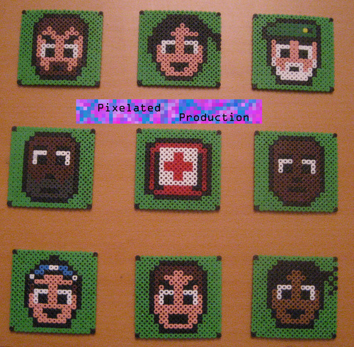 L4D Bead Art da Pixelated Production