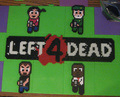L4D Bead Art by Pixelated Production - left-4-dead fan art
