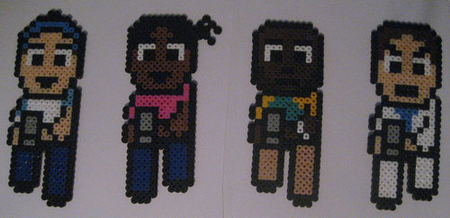 L4D Bead Art によって Pixelated Production