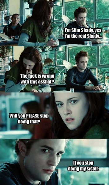 twilight Harry potter funnies