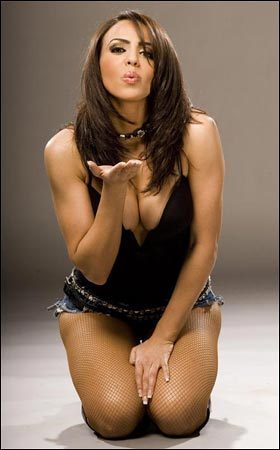 WWE Divas پیپر وال possibly with attractiveness, a swimsuit, and a leotard called Layla El