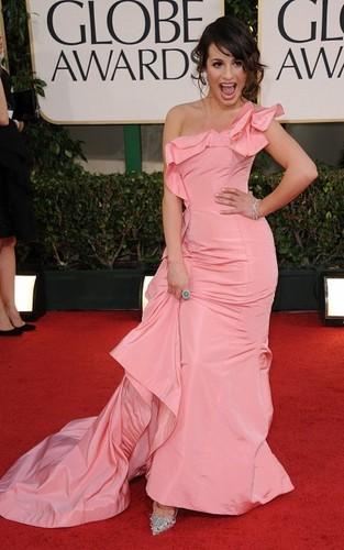 Lea @ Golden Globes