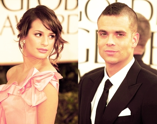 Lea and Mark on the Red Carpet
