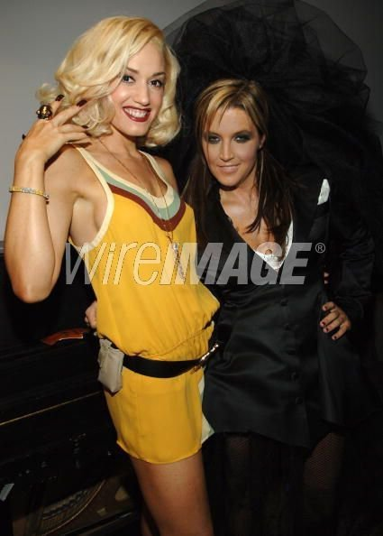 Lisa Marie Presley and Gwen Stefani