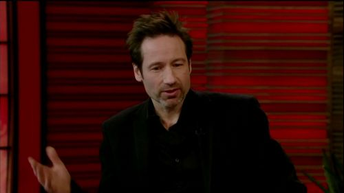 Live on Regis and Kelly Jan 17th 2011 - david-duchovny Screencap